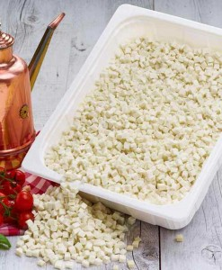 Mozzarella-cubettata
